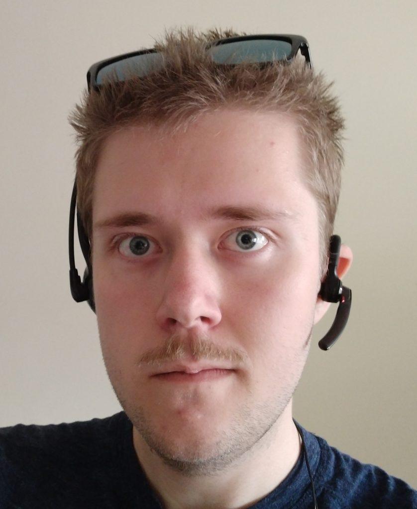 En profilbild på Max Rosenfors